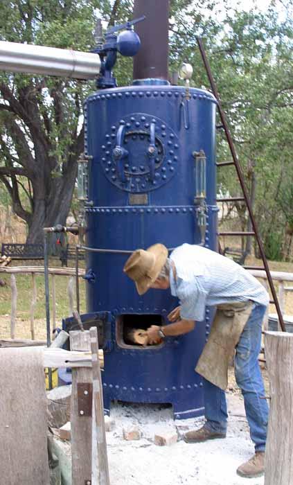 wood fired steam boiler plans