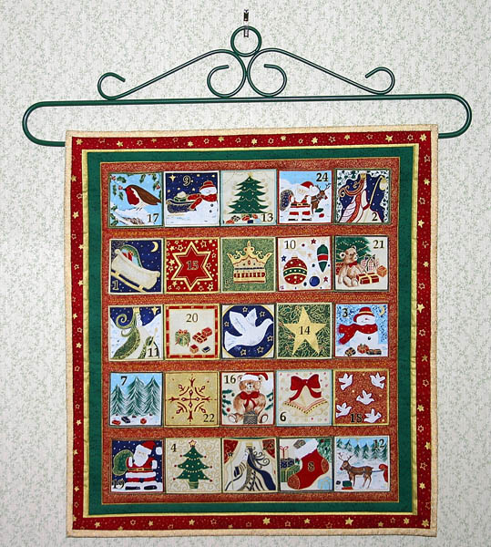 Quilts and Quilting Links : calendar quilts - Adamdwight.com